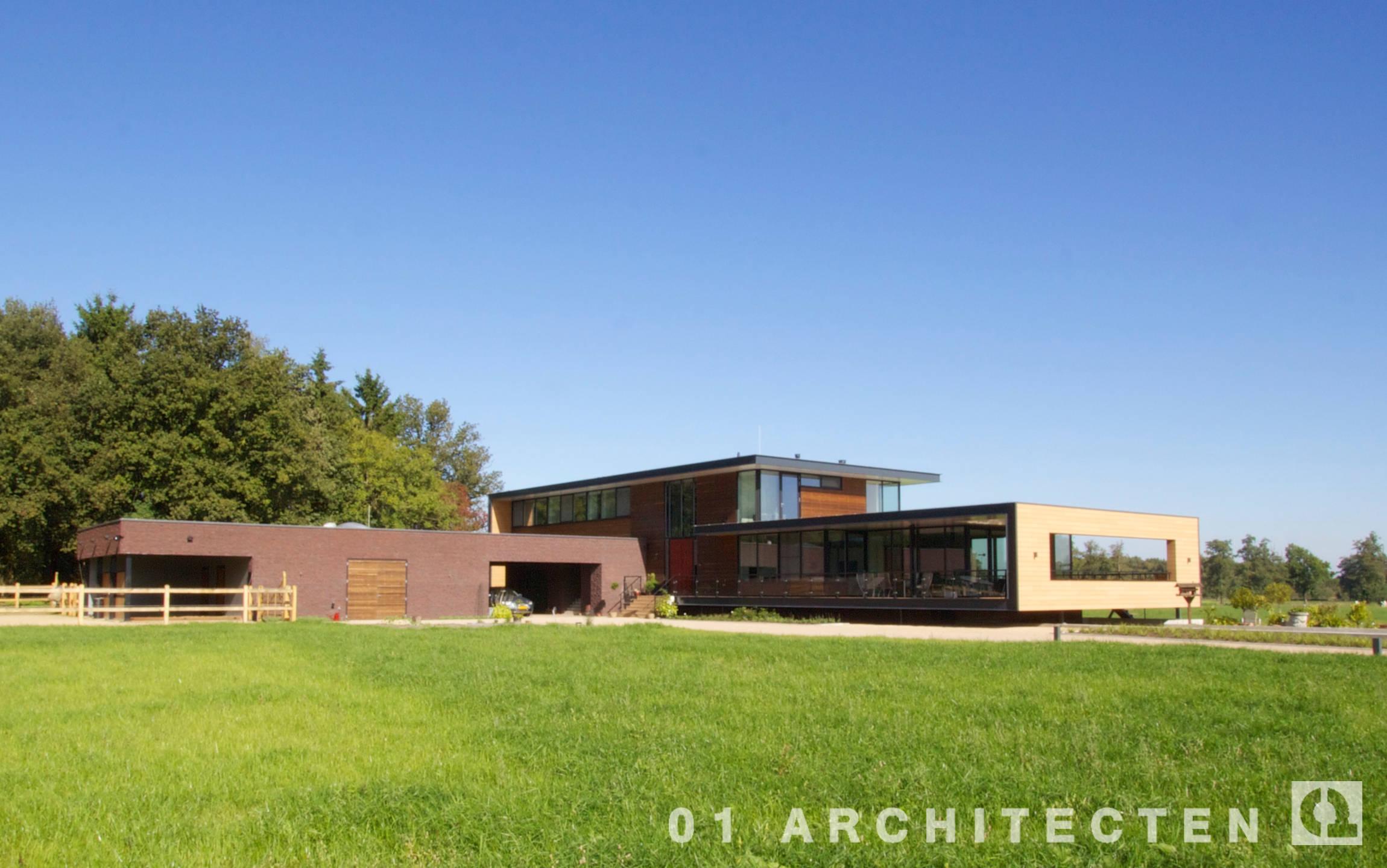 villa modern overijssel twente architecten modernevilla veranda kader strak wonen