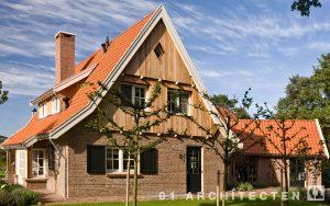 ´t Brunnink Saksische stijl ontworpen woning enschede architect