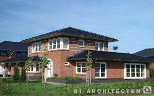 Nieuwbouw villa 't Brunnink Enschede Frank Lloyd Wright stijl