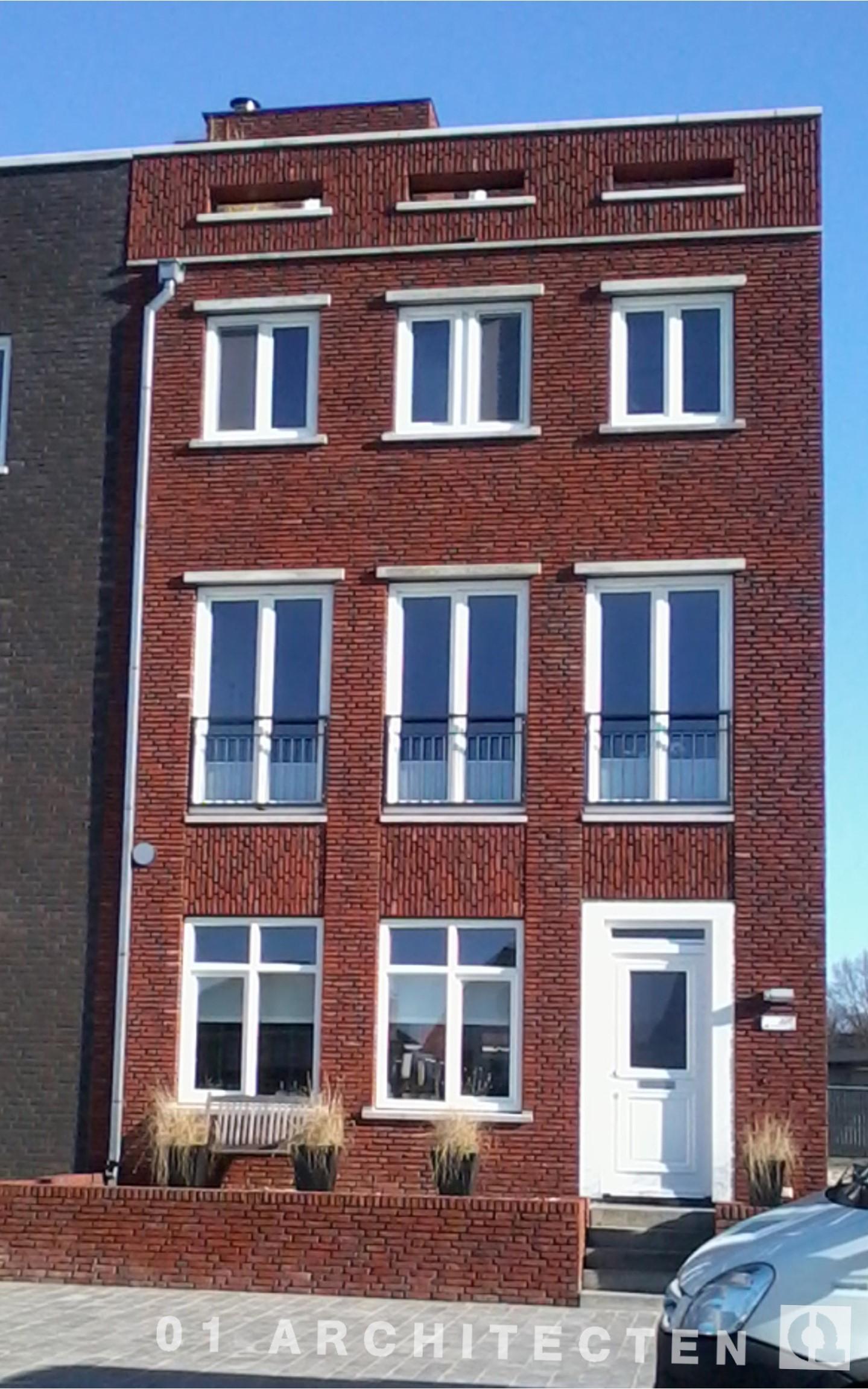 Nieuwbouw van een stadsvilla statenpand Raiffeisenstraat Enschede