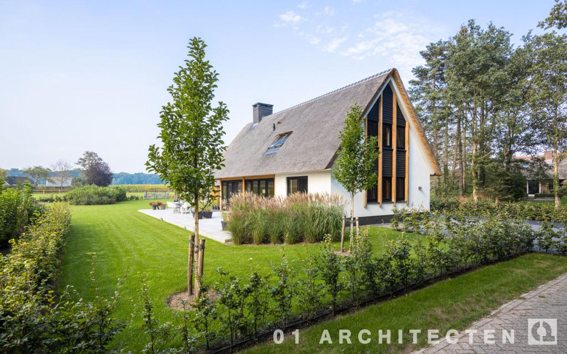 Oriëntatie open veld architectuur nieuwbouw
